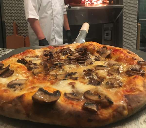 Johnny Shroom Pizza