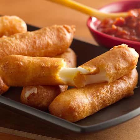 Fried Mozza Sticks**