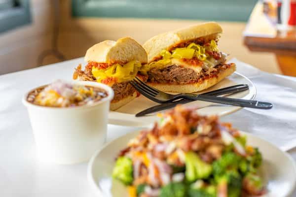 chilli and sandwich