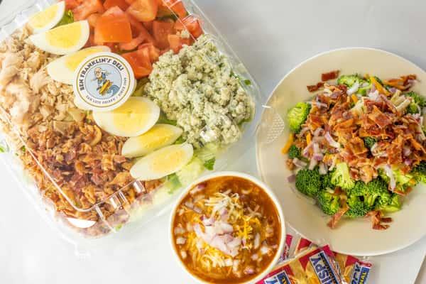 chef salad and chilli