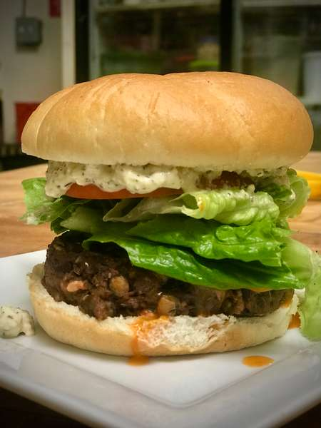 Buffalo Blue Cheeze Burger