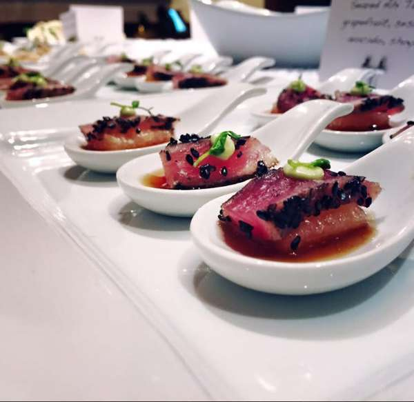 Catered dish