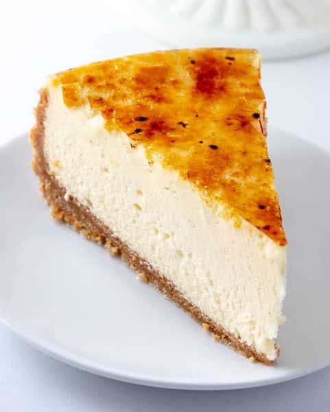 Creme Brûlée Cheesecake 6.25
