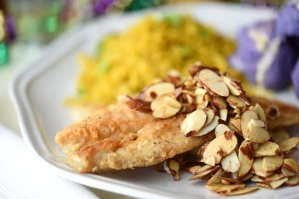 Chicken Almondine