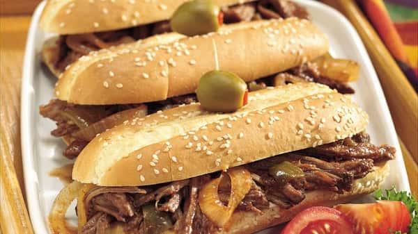 Javier's Brisket Sandwich