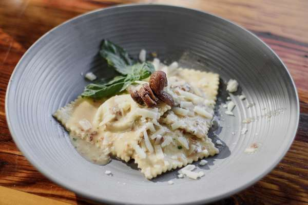 Gnocchi with braised oxtail