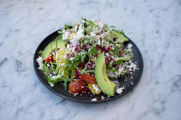 Avocado & Goat Cheese Salad