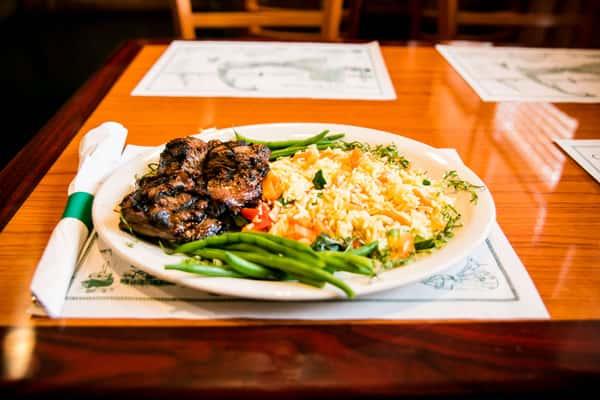 marinated steak