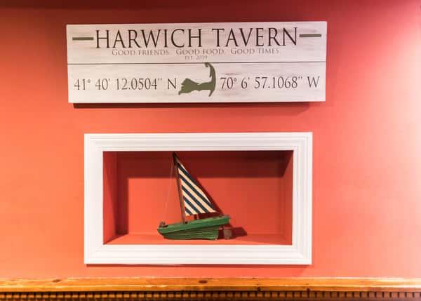 harwich tavern sign