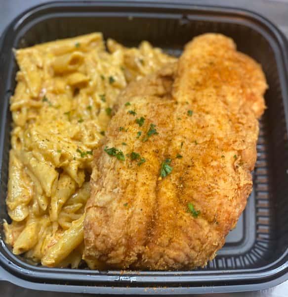fish and lobster mac