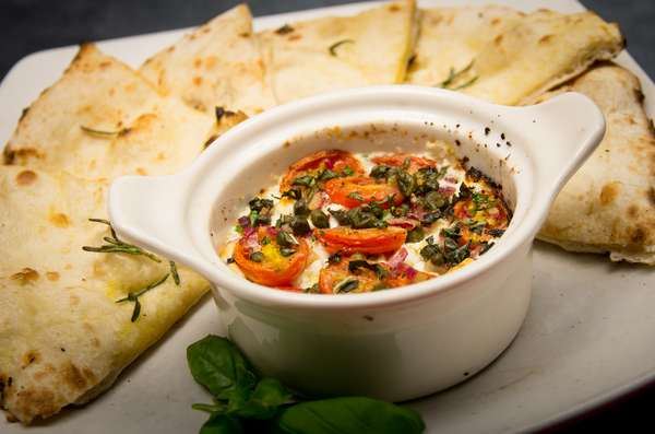 Wood-Fired Goat Cheese Dip