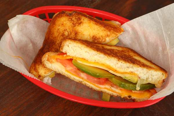 Chef's suggestion Grilled cheese