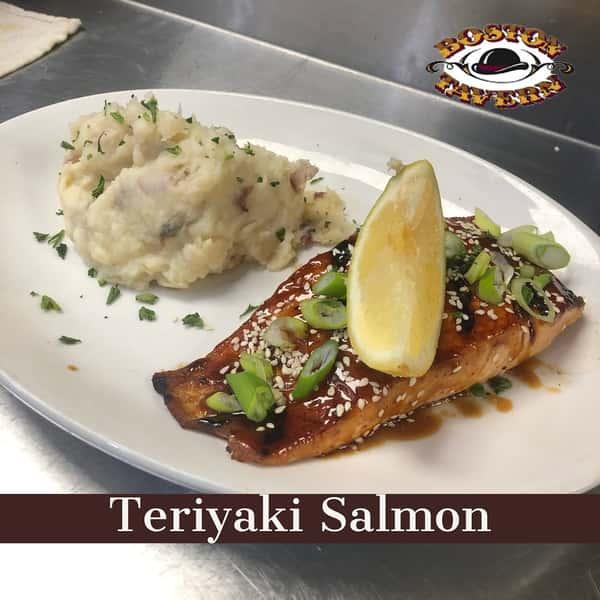 Teriyaki Style Salmon