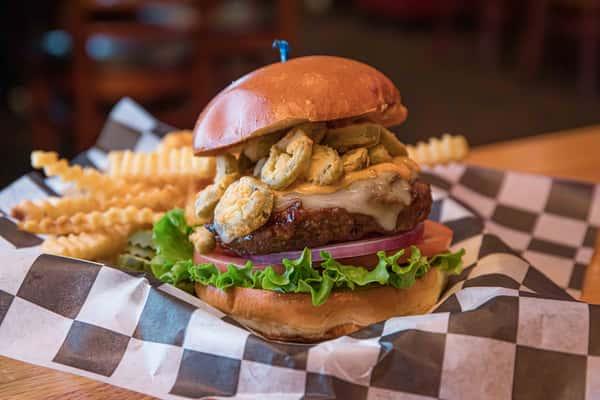 The Crazy Manny Burger