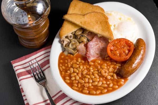Traditional British Breakfast
