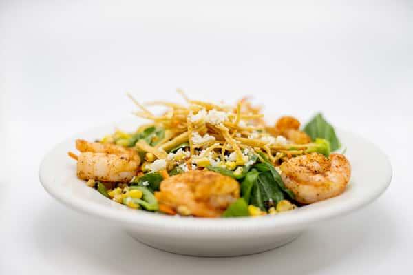 Fajita Shrimp Salad