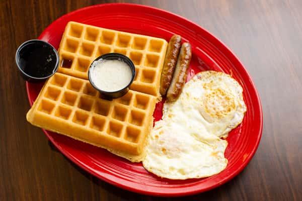 Marian's Waffle Combo