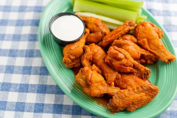 Hot Wings Or BBQ Wings