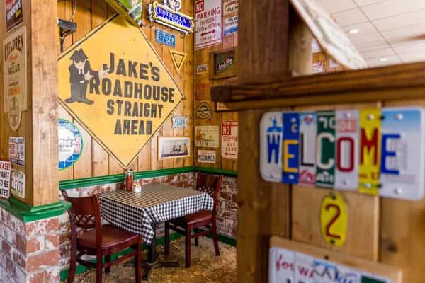 Jake's Roadhouse interior