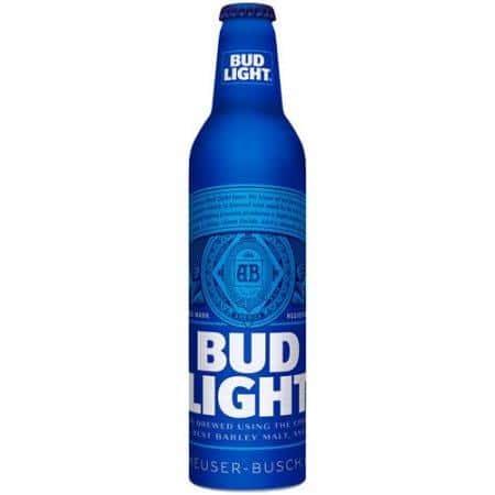 Bud Light Aluminum Bottles