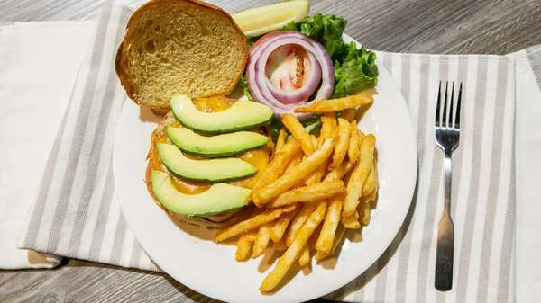 Turkey & Avocado Burger