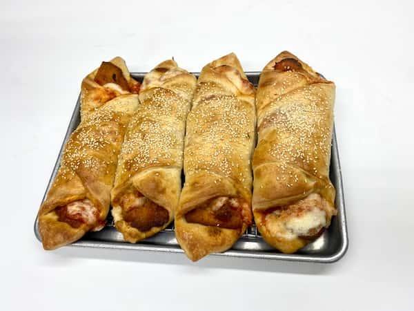 Chicken Parmigiana Roll
