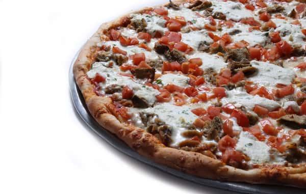 Eggplant Delight Pizza