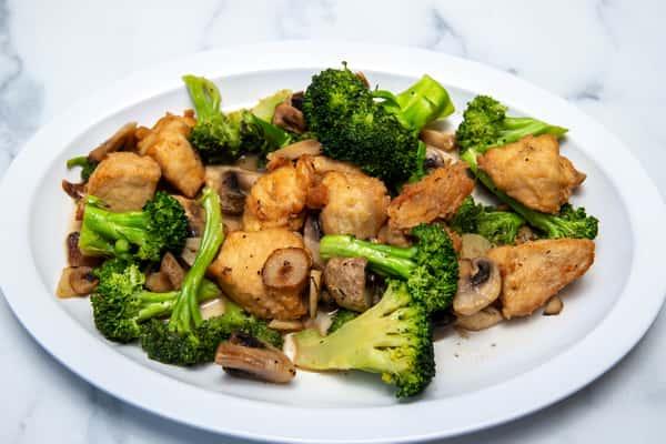 Chicken Broccoli & Mushrooms