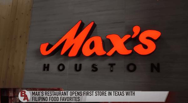 Max's Houston Opening