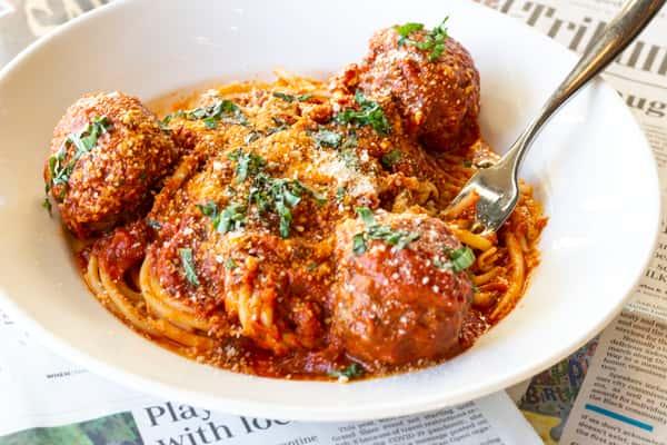 Friday(ONLY)-Joe's Spaghetti & Meatballs
