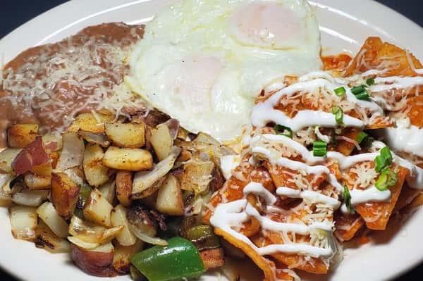 Chilaquiles & Eggs