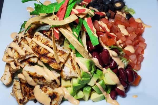 Chicken Fajita Salad