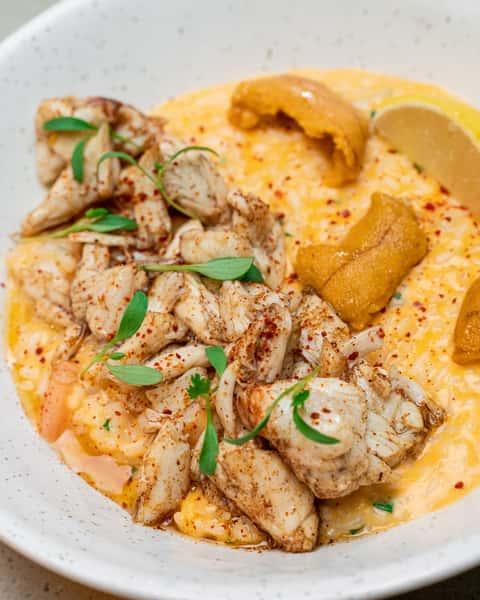 Seafood Laksa Risotto