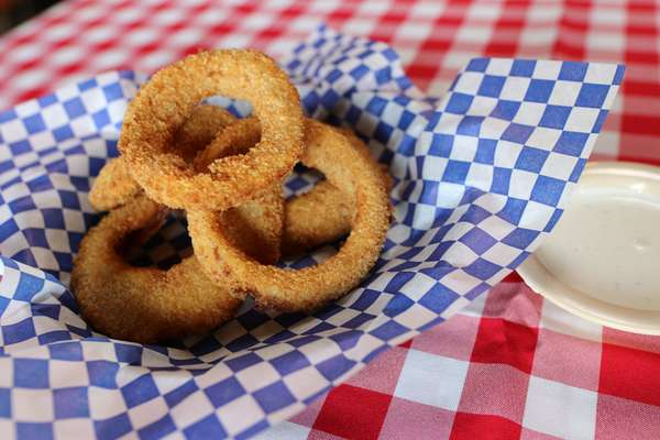 Hand Breaded Onion Rings