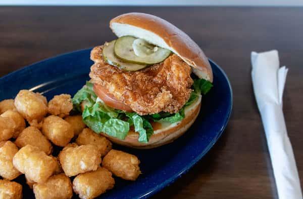 Famous Fried Chicken Sandwich