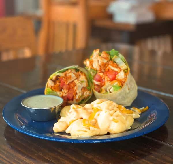 Nashville Chicken Wrap