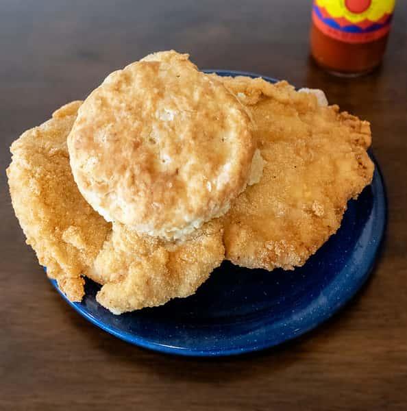 pork tenderloin biscuit