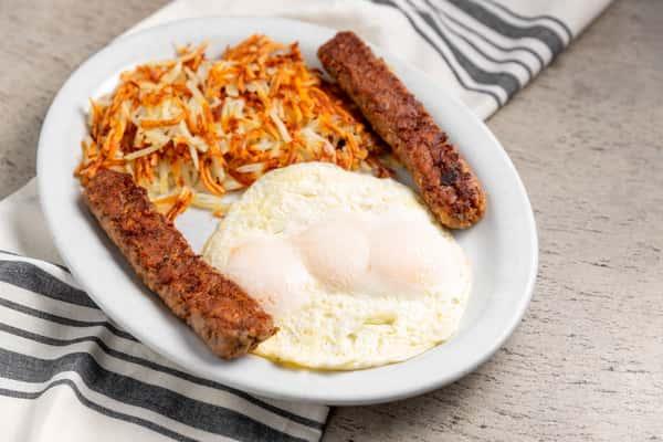 Italian Sausage & Eggs