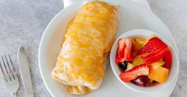 The Big Larry Breakfast Burrito