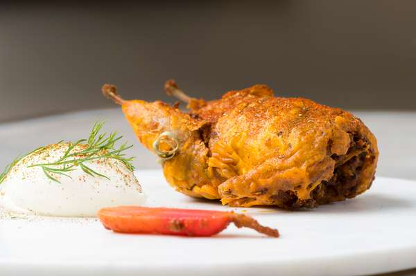 Fried poultry entree