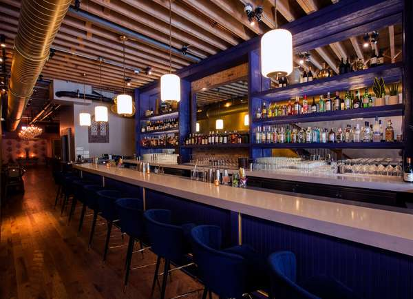 Rooh Bar area