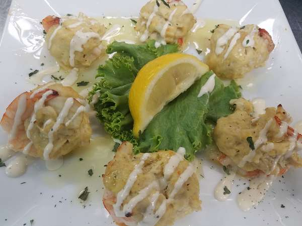 Stuffed Shrimp with Crab Imperial