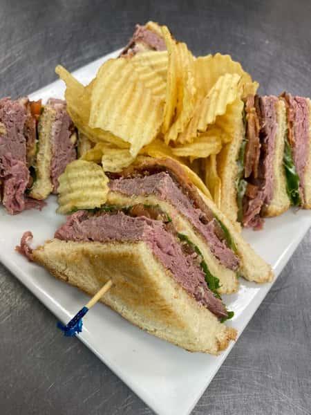 The Classic Club Sandwich