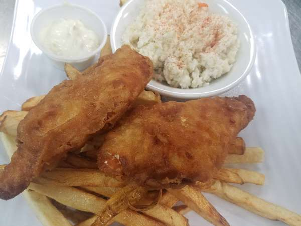 English Style Fish N Chips