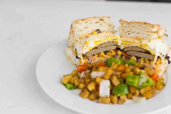 South West Breakfast Sandwich