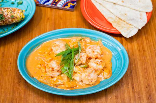 Spicy Cantina Camarones