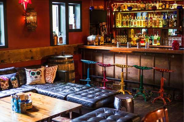 mission cantina interior bar seating