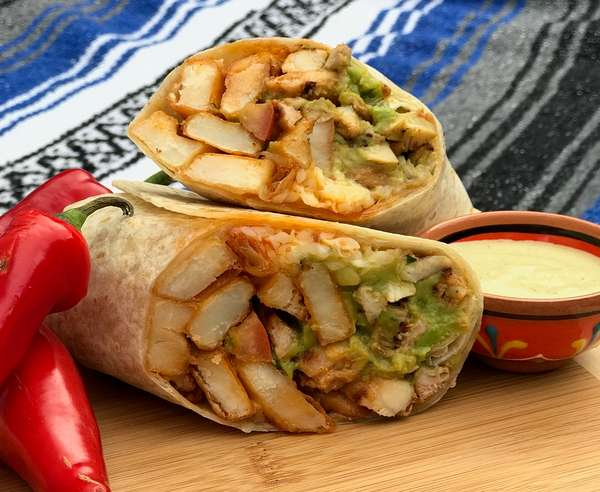 Alitas de Pollo Burrito