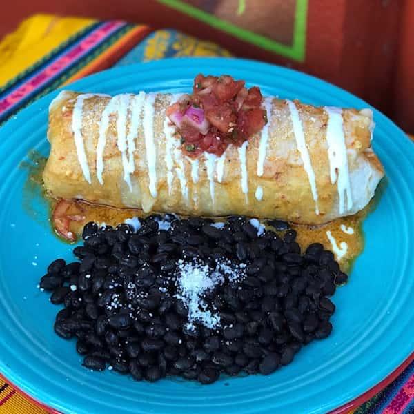 Cantina Camarones Burrito