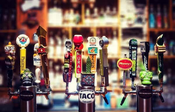 Beer! Drafts, Bottles & Growlers